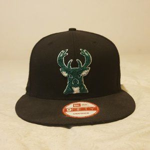 New Era 9FIFTY Snapback Milwaukee Bucks